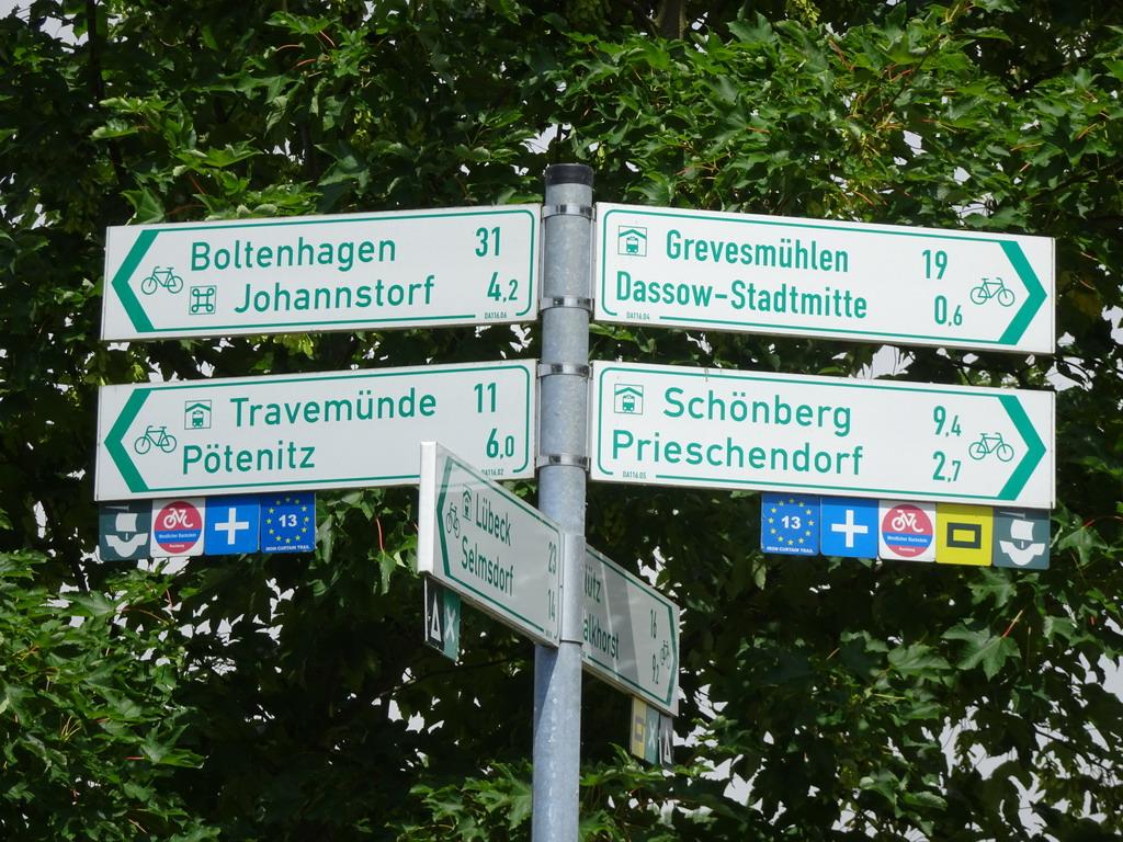 l'Allemagne à vélo