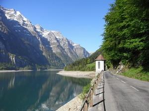 Route panorama alpin