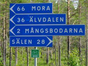 Suède à vélo
